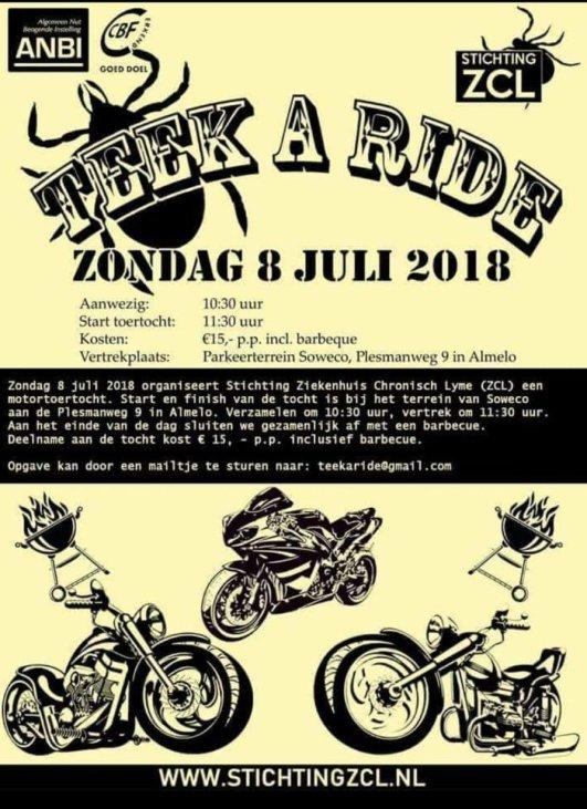 Poster Teek A Ride